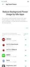 Battery menu - Realme X2 review