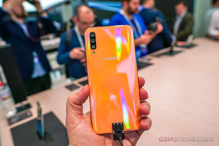 Samsung Galaxy A50, A30, Tab S5e hands-on review: Samsung Galaxy A50