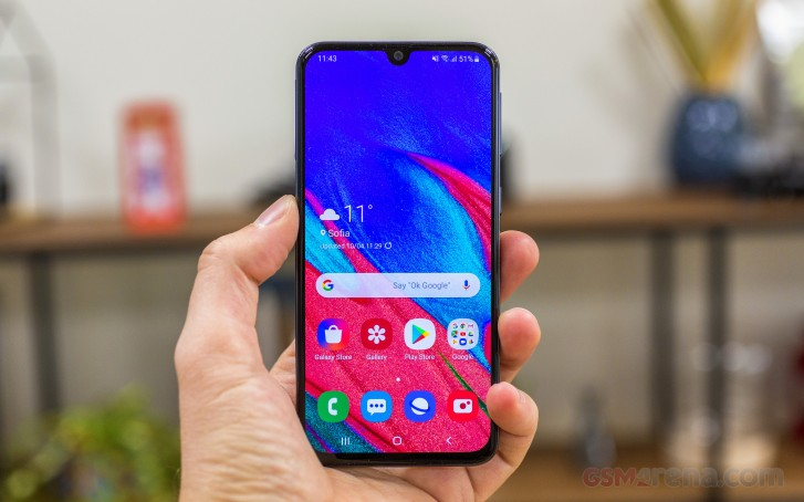 Samsung Galaxy A40 review: User interface and performance