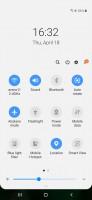 Notification shade - Samsung Galaxy A50 review