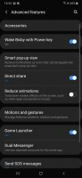Advanced settings and Digital Wellbeing - Samsung Galaxy A50 review