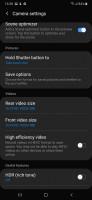 Camera UI - Samsung Galaxy A50 review