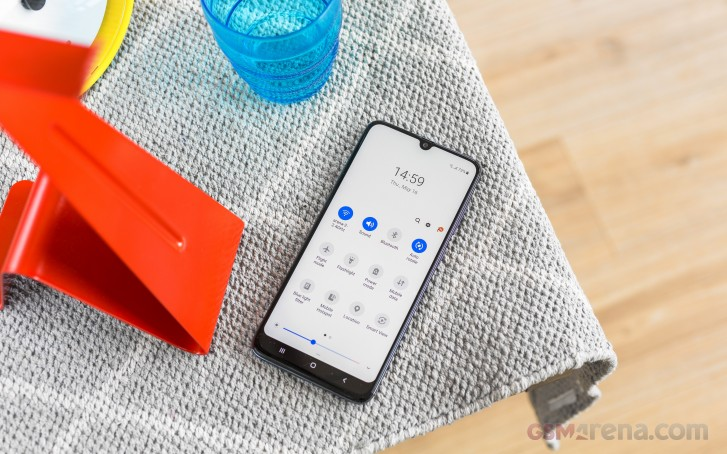Samsung Galaxy A70 review: Software and performance