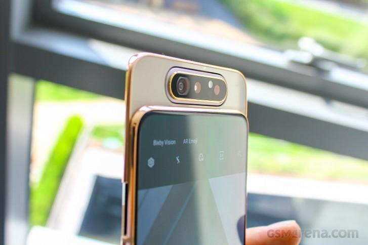 Samsung Galaxy A80 A70 Handson review