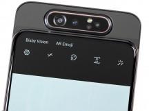 Camera facing forward - Samsung Galaxy A80 review