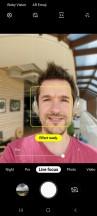Camera UI - Samsung Galaxy A80 review