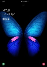 Lockscreens - Samsung Galaxy Fold review