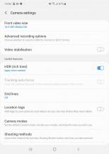 Camera app - Samsung Galaxy Fold review