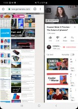 Multi-window in portrait mode - Samsung Galaxy Fold review