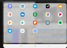 Available pop-up apps - Samsung Galaxy Fold review