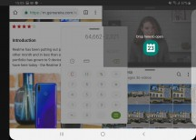 Piling pop-up apps - Samsung Galaxy Fold review