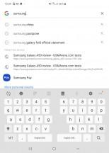 Split keyboard - Samsung Galaxy Fold review