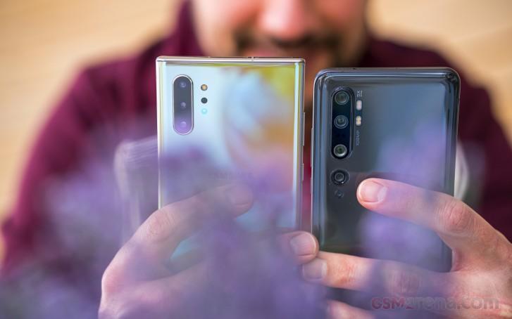 Samsung Galaxy Note10+ vs. Xiaomi Mi Note 10