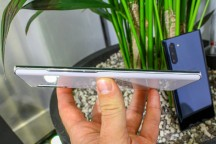 Samsung Galaxy Note10+ control layout - Samsung Galaxy Note10 and Note10+ hands-on review