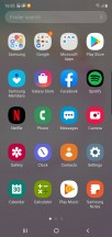App drawer - Samsung Galaxy Note10 review