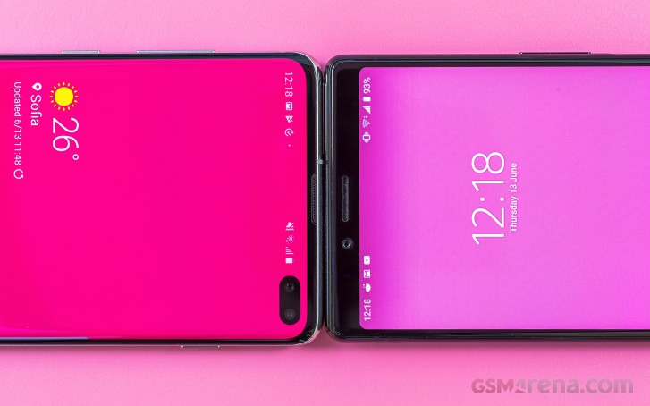 Samsung Galaxy S10+ vs. Sony Xperia 1