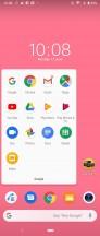 Xperia 1 UI: Folder view - Samsung Galaxy S10+ vs. Sony Xperia 1