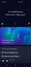 Galaxy S10+ software: Bixby - Samsung Galaxy S10+ vs. Sony Xperia 1