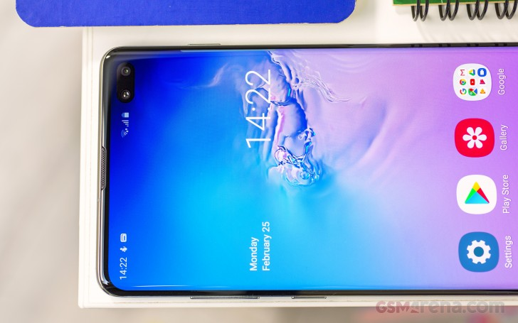 Samsung Galaxy S10+ review: Lab tests - display, battery