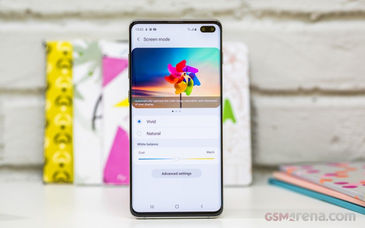 Samsung Galaxy S10+ review: Lab tests - display, battery life
