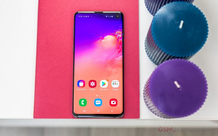 Samsung Galaxy S10 review: User interface