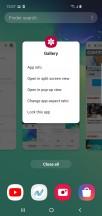 Menu to go into multi window - Samsung Galaxy S10 review