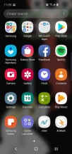 Home screen, recent apps and app drawer - Samsung Galaxy S10e review