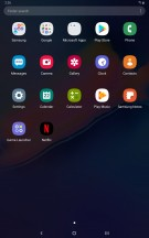 Samsung One UI on tablets - Samsung Galaxy Tab S5e review