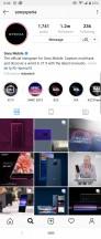 Instagram (1 extra row) - Sony Xperia 10 Plus review