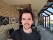 Portrait selfies - f/2.0, ISO 40, 1/0s - Sony Xperia 10 review