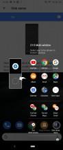 Side sense • Side sense options • Side sense menu • 21: Task switcher - Sony Xperia 5 review