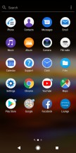 App drawer - Sony Xperia L3 review