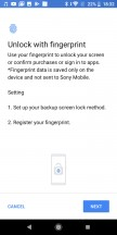 Fingerprint unlock - Sony Xperia L3 review