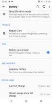 Battery life snapshots - Sony Xperia XZ3 long-term review