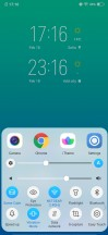 Home screen and quick toggles - Vivo V15 Pro Hands On review