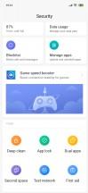 Security app - Xiaomi Mi 9 SE review