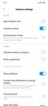 Camera UI - Xiaomi Mi 9 SE review