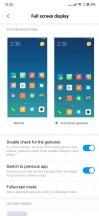 Gesture settings - Xiaomi Mi Mix 3 review