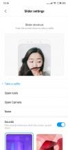 Slider settings - Xiaomi Mi Mix 3 review