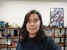 Selfies: Normal - f/2.0, ISO 166, 1/100s - Xiaomi Redmi Note 8 Pro review