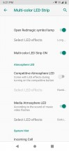 LED lights options - ZTE nubia Red Magic 3 review