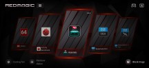 Game Space home screen has two style modes - ZTE nubia Red Magic 3 review
