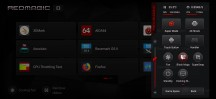 Game Space side menu - ZTE nubia Red Magic 3 review