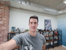 Selfies: Ultra-wide - f/2.2, ISO 449, 1/33s - ZTE nubia Z20 review
