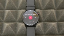 Music player on the GTR 2 - Amazfit GTR 2 review