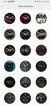 Official watchface selection - Amazfit T-Rex review