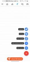 Additional Amazfit Notify app tabs - Amazfit T-Rex review