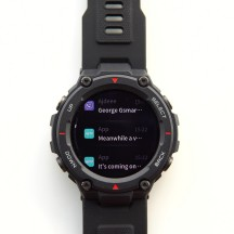 Notifications interface - Amazfit T-Rex review