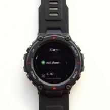 Alarms - Amazfit T-Rex review