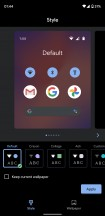 Launcher customization options are largely unchanged - Android 11 review
